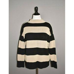 LAFAYETTE 148 NEW YORK Funnel Neck Ponte Sweater